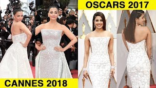 Aishwarya Rai Cannes 2018 Gown VS Priyanka Chopra
