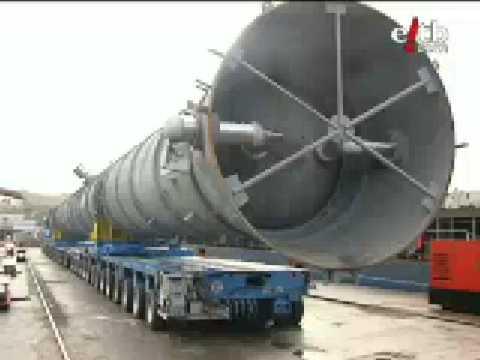 Transporte pesado de reactor