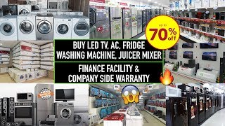 Buy Factory Second Sale Electronics At Heavy Discount | Wholesale/Retail, AC, Fridge, Juicer, Led Tv