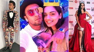Ranveer Singh and Manushi Chhillar look chilled out during Jio Filmfare Rehearsals | SpotboyE