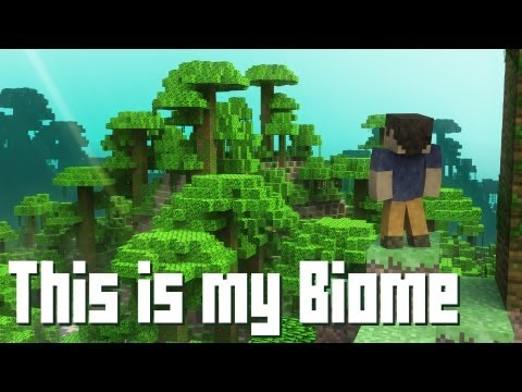 This is my Biome A Minecraft Parody of Payphone Music Video