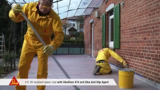 Sika - Premium Balcony System Sikafloor 405 (english)