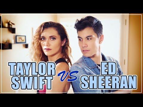 Taylor Swift VS Ed Sheeran MASHUP!! 20 Songs | ft. Alyson Stoner & Sam Tsui