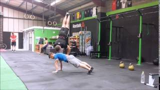 Strength Training | Stuart Bathgate & Josh Summersgill | Human Base Handstand | FreakyNinja