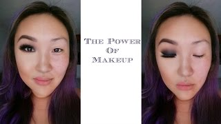 THE POWER OF MAKEUP (Monolid/Korean Transformation)
