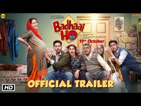 Xxx Mp4 'Badhaai Ho' Official Trailer Ayushmann Khurrana Sanya Malhotra Director Amit Sharma 19th Oct 3gp Sex