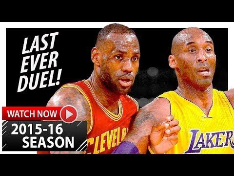 LeBron James vs Kobe Bryant LAST