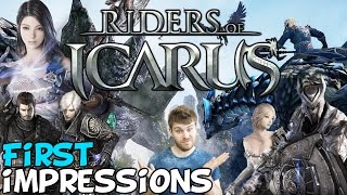 Riders Of Icarus MMORPG First Impressions