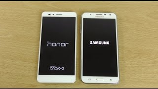 Honor 5X VS Samsung Galaxy J7 -  Speed & Camera Test!