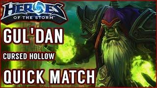 Fel Flame Build - Gul'dan Gameplay [Heroes of the Storm || EU Grand Master]