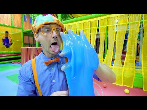 Xxx Mp4 Blippi Learns The 5 Senses At A Play Place Educational Toddler Videos 3gp Sex