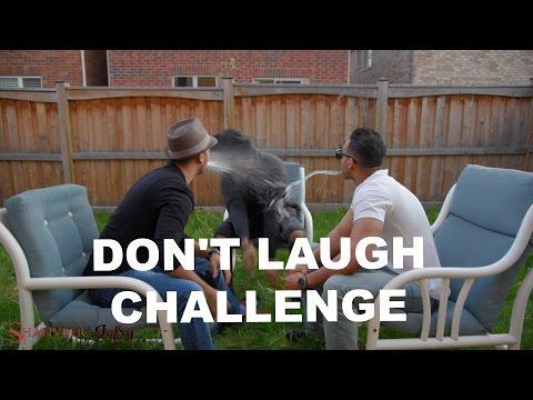 Don t laugh Challenge. SHAHVEER JAFRY VS. SHAM IDREES