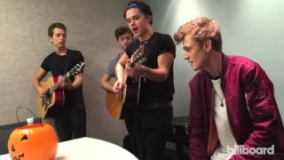 The Vamps Perform 'Uptown Funk' Acoustic in the Billboard Offices: Exclusive Video