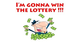 I'M GONNA WIN THE LOTTERY (Music Video)