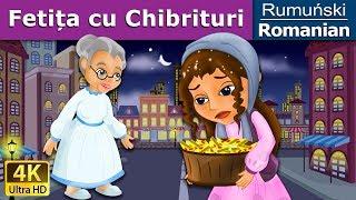 Fetița cu Chibrituri - The Little Match Girl in Romanian - 4K UHD - Romanian Fairy Tales