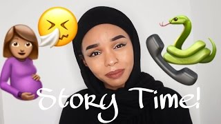 STORY TIME - 14 YEARS OLD & PREGNANT FOR A 12 YEAR OLD! A SNAKE IS INVOLVED TOO!!!