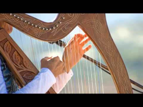 Harp Music Tibetan Celestial Relaxing 432 hz Strings Solo Playlist for Study Concentrate and Yoga