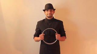 تعلم العاب الخفة ( مراجعة 3 ) linking rings magic trick revealed