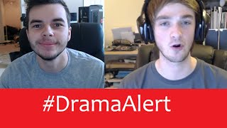 Nadeshot Hacker -Ali-A tells KSI Get a real job! #DramaAlert Karma vs Parasite!