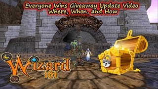 Wizard101 Everyone Wins Giveaway Update Video Free Crowns Prizes in Appreciation of Subscribers