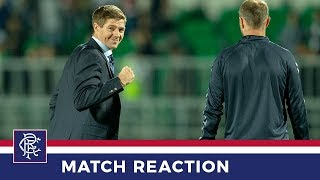 REACTION | Steven Gerrard | Ufa 1-1 Rangers
