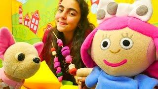 Pikniğe gitme, bebek bakma ve alış veriş yapma oyunu 🍠! #Smarta ve sihirli çantası oyuncakları!
