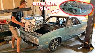 MULLET Gets His 1500hp Texas Speed LS! (The Bald Eagles Have Landed!) + afterburner is on!