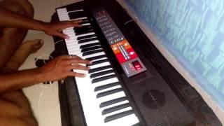 Yad lagla song on piano