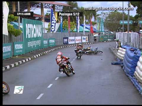 2012 Season Crash Compilation PETRONAS AAM Malaysian Cub Prix Championship