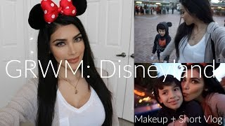 GRWM for Disneyland + Short Vlog