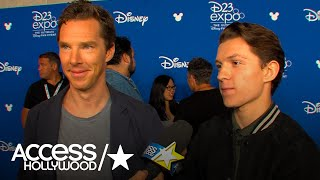 Benedict Cumberbatch & Tom Holland On Fan Reaction To