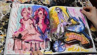 sketchbook share | aug17-feb18