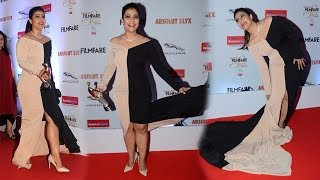 Hot Kajol's oops moment at the Filmfare Glamour and Style awards 2016