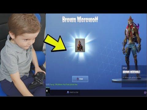 Xxx Mp4 5 YEAR OLD KID UNLOCKS NEW MAX TIER 100 DIRE EPIC Hidden Brown WereWolf Outfit Fortnite 3gp Sex