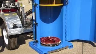 Drum Crusher Barrel Compactor