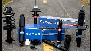 Sachs Super Touring Struts and Shocks unboxing and rewiev