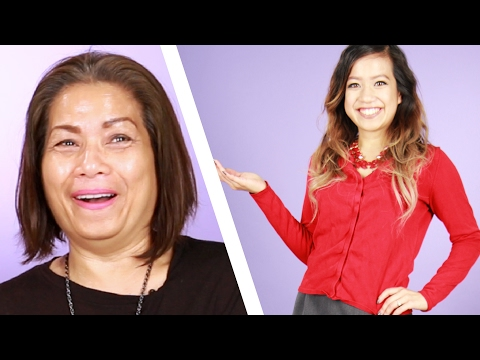 Women Get Dressed By Their Moms For A Week