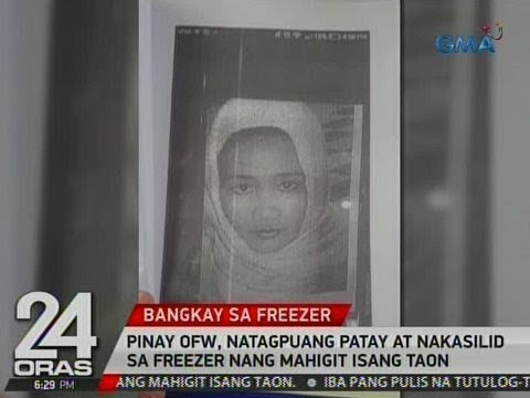 Xxx Mp4 24 Oras Pinay OFW Natagpuang Patay At Nakasilid Sa Freezer Nang Mahigit 1 Taon 3gp Sex