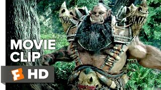 Warcraft Movie CLIP - Attacked by Orcs (2016) - Travis Fimmel Movie HD
