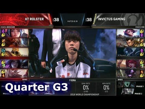 Xxx Mp4 KT Vs IG Game 3 Quarter Final S8 LoL Worlds 2018 KT Rolster Vs Invictus Gaming G3 3gp Sex