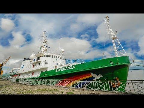 Como FUNCIONA um NAVIO do Greenpeace Boravê com Mari Fulfaro 🔵Manual do Mundo