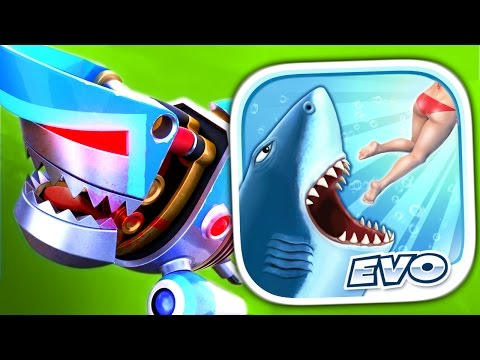 HUNGRY SHARK EVOLUTION - Part 2 (iPad Gameplay Video) - VidoEmo - Emotional Video Unity