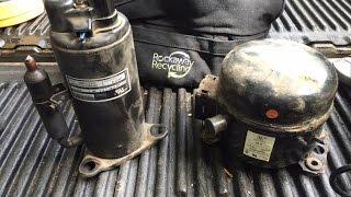 Scrapping a Compressor for Copper!