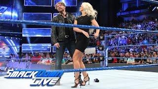 Maryse slaps Dean Ambrose en route to his showdown against The Miz: SmackDown LIVE, Jan. 3, 2017