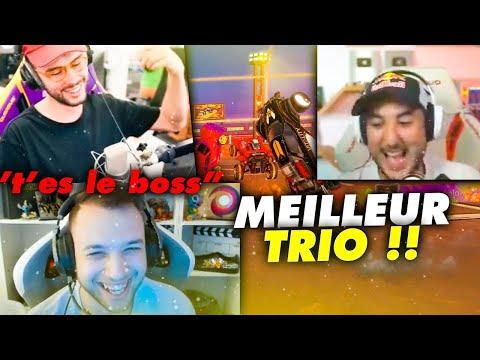 LE MEILLEUR TRIO DE ROCKET LEAGUE lol