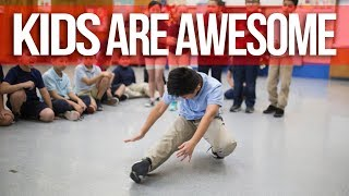 Kids Are Awesome | BBoy Vincanity's 2 Month Students