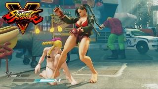 Laura Barefoot Battle Costume   Street Fighter V PC Modding