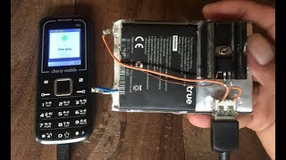 13500mAh power bank out of old phone battery