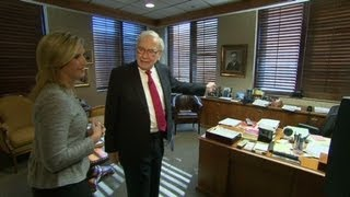 Tour Warren Buffett's office
