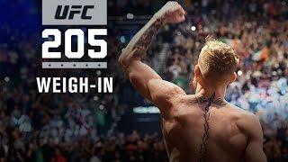 UFC 205: Official Weigh-in